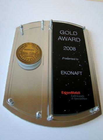 Złoty medal w roku 2008