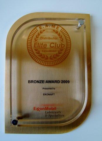 Brązowy medal w roku 2009