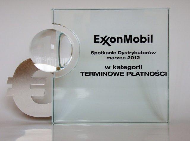 1 miejsce za PŁATNOŚCI za 2011 r.